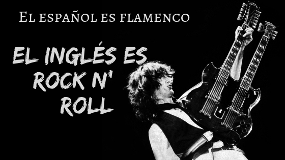 """Lanzamiento / Launch: """"El español es Flamenco. El inglés es Rock n' Roll"""" (ebook)"""