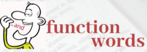 for is a function word