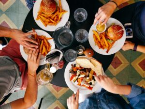 Photo by Dan Gold on Unsplash  dinner for four