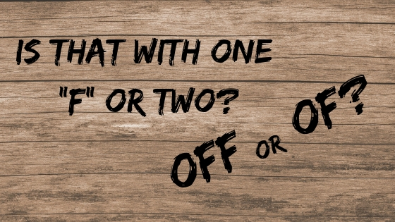 La diferencia entre OFF y OF / The Difference Between OFF and OF